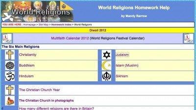 Online homework help religion